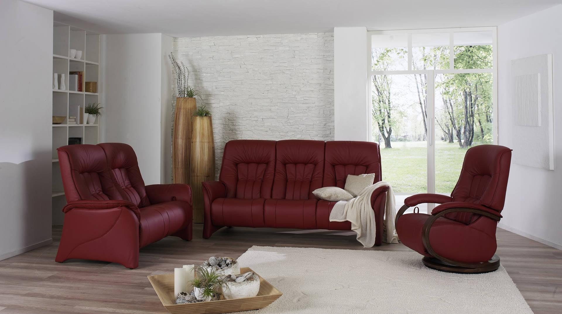 sofás color rojo