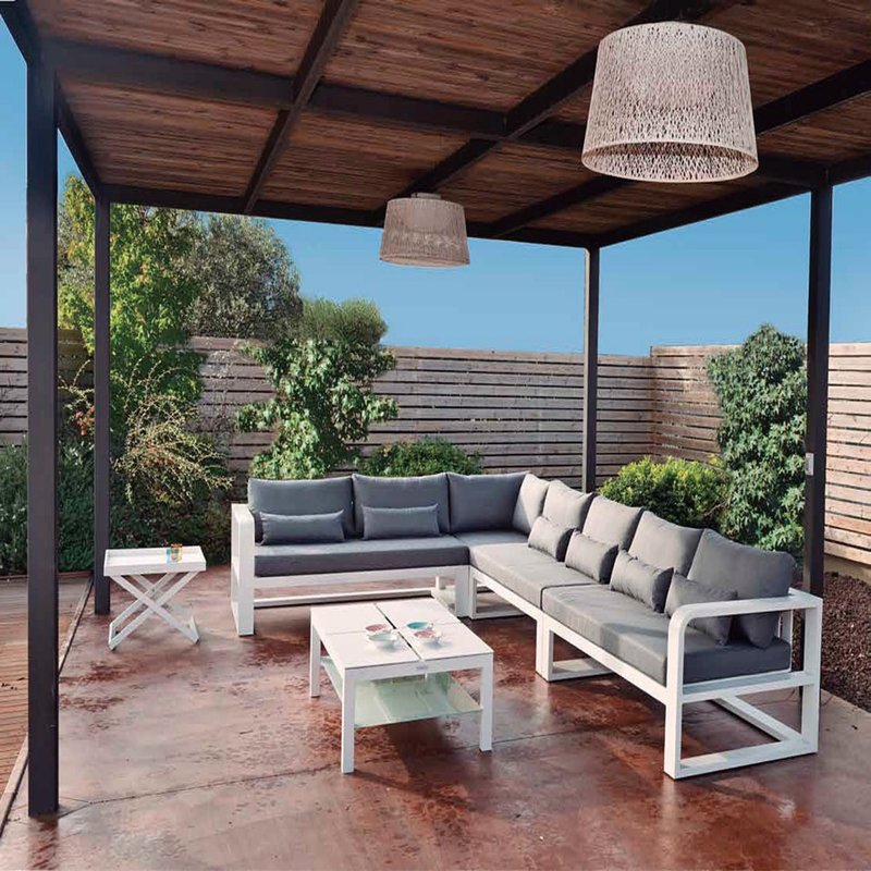 sofa fermo de exterior modular