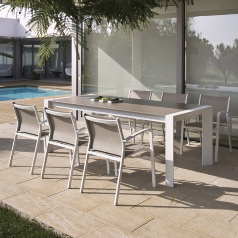mesa de exterior y de jardín