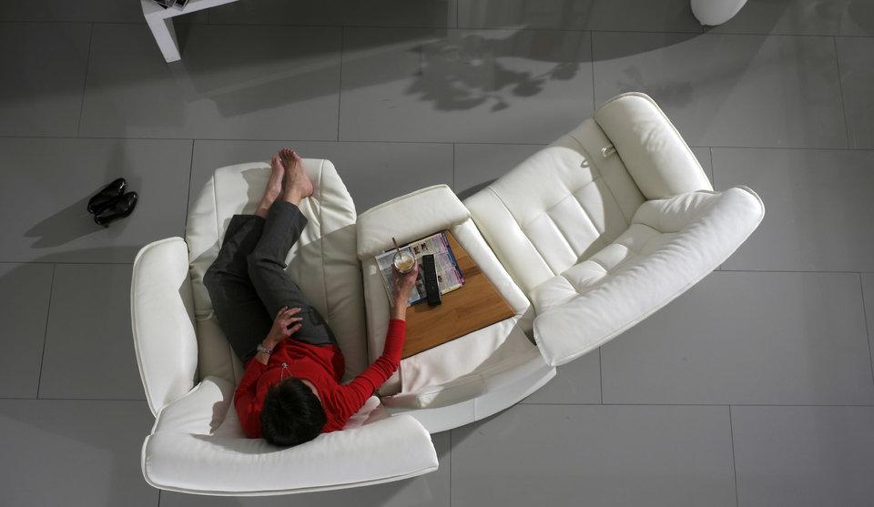 sofá Belvetara blanco de diseño Torrevieja