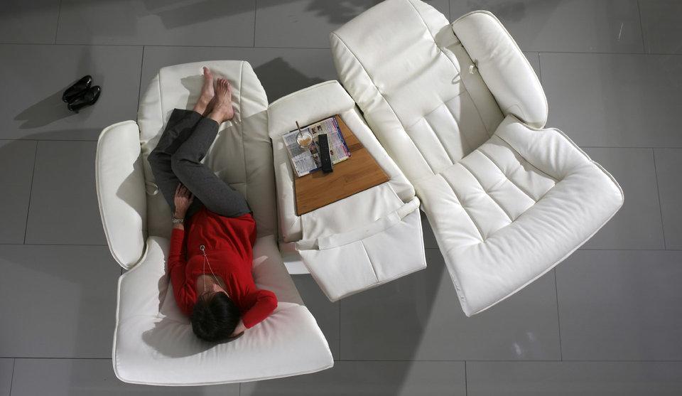 sofá Belvetara blanco Torrevieja