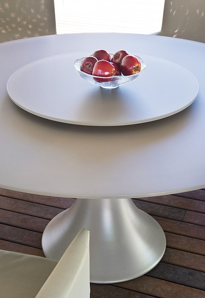 Mesa comedor y exterior redonda Fano 8 | Tienda Online de Muebles J ...