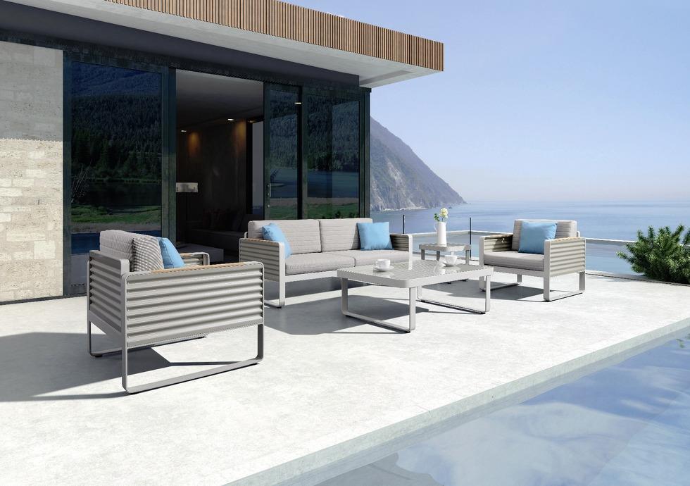 muebles de jardin aluminio