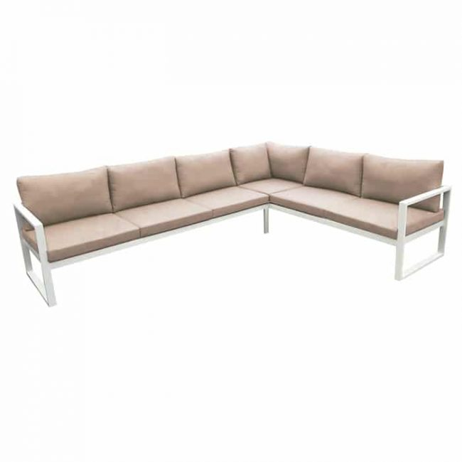 Set de sofá angular Solaro
