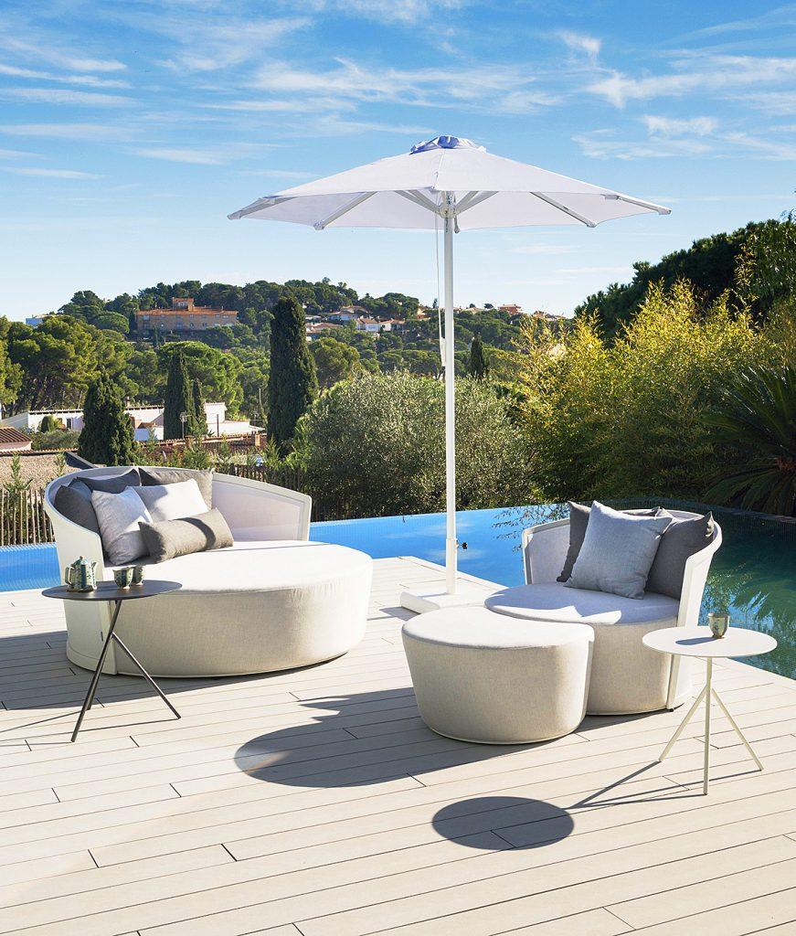 Sof cama de exterior ventura comprar online en muebles for Muebles exterior online