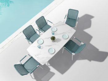 Set mesa y 6 sillas PIONEER