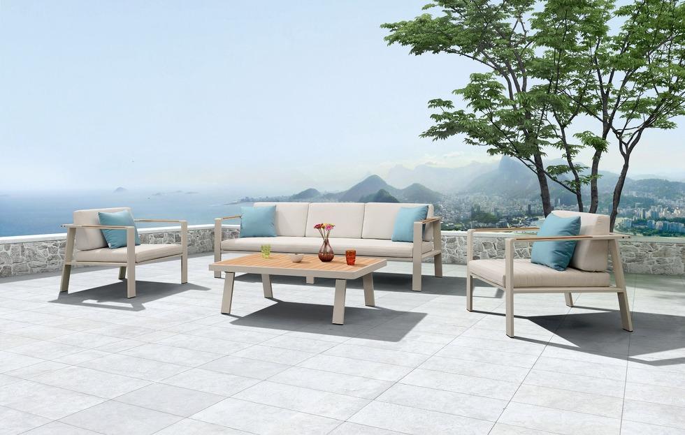 Muebles de jardín de aluminio, tu mejor opción